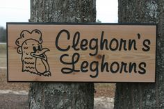 """Custom Order Carved Cedar Sign 18"""" x 7""""  click the etsy link to see other items in our shop and to contact us."""