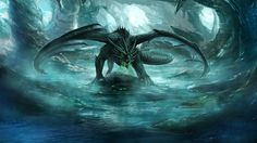 Cave Dragon #Dragon #Fantasy #DeviantArt by RobertCrescenzio.deviantart.com on…