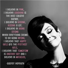 favourite quotes by Audrey Hepburn