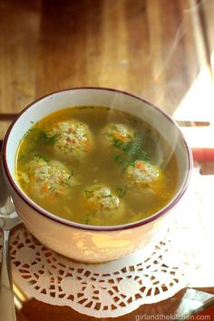 Authentic RUSSIAN MEATBALL SOUP – СУП С ФРИКАДЕЛЬКАМИ from the Girl and..., ,