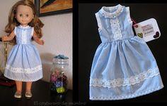 El costurero de mimbre: Nuevos vestidos para Nancy clásica