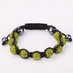 Hand Made Eight Stone Swarovksi Elements Bracelet- Light, Women's
