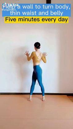 Fitness Workouts, Gym Workout Videos, Yoga Fitness, Yoga Workouts, Fitness Motivation, Health Fitness, Body Weight Leg Workout, Full Body Gym Workout, Wall Workout