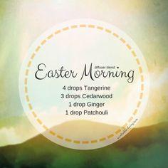 Easter Diffuser Blends – Scentsable Living