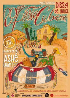 20a Festa Cubana de la Solidaritat, organitzada per l'Ateneu del Món de Sant Quirze del Vallès #SQV #SantQuirze #somsantquirze #santquirzedelvalles