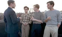 Iris & Daniel: The Style of 'Kill Your Darlings' - | The Style Con