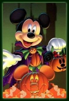 Mickey Mouse Halloween, Halloween Cartoons, Garfield Halloween, Disneyland Halloween, Mickey Mouse And Friends, Mickey Minnie Mouse, Disney Mickey, Image Mickey, Mickey Love