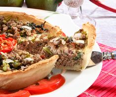 Cheesesteak, Tart, Salsa, Ethnic Recipes, Food, Pie, Essen, Tarts, Salsa Music