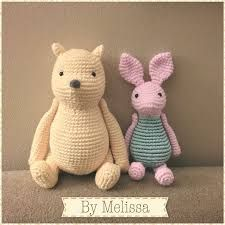 Crochet Pooh and Piglet