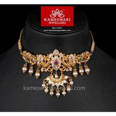 Stunning gold vanki designs by Kameswari Jewellers. Shop online from one of the foremost South India's traditional jewellers. Antique Jewellery Designs, Gold Earrings Designs, Gold Jewellery Design, Necklace Designs, Handmade Jewellery, Bridal Jewellery, Earrings Handmade, Gold Jewelry Simple, Trendy Jewelry