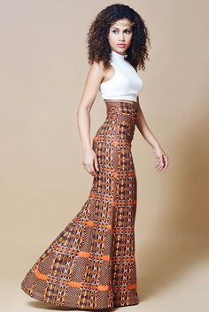 Find Best latest african fashion look 8754 African Inspired Fashion, African Dresses For Women, African Print Fashion, Africa Fashion, African Attire, African Wear, African Women, Fashion Prints, Fashion Design