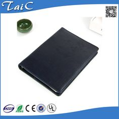 Check out this product on Alibaba.com APP Handmade leather padded embossed logo PU leather spiral bound hardcover notebook journal diary