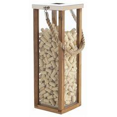 ARTERIORS Home Tate Glass / Wood / Steel Lantern