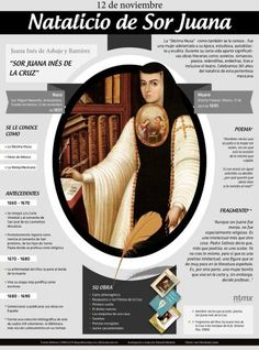 Sor Juana Inés de la Cruz.