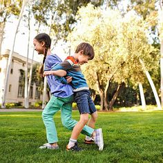 Get active with these balancing exercises for kids.