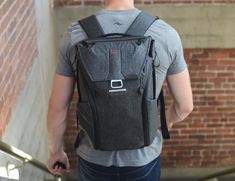 Inside the 20-liter capacity Everyday Backpack are FlexFold dividers.