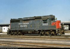 RailPictures.Net Photo: SP 5012 Southern Pacific Railroad EMD GP30 at El Paso, Texas by Roger Lalonde