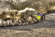Rally racing in HDR