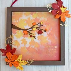 Crafter's Companion Sara Signature Autumn Morning Dies, Folders, Paper and Stamps