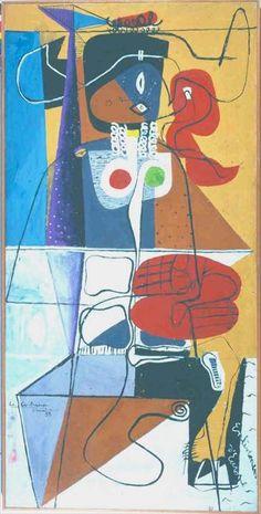 Fondation Le Corbusier - Peintures - Taureau X