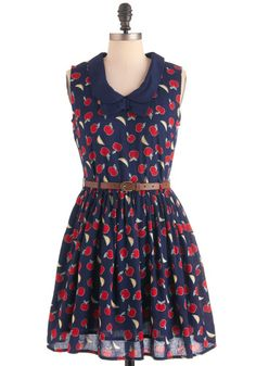 9. Top three ModCloth dresses for success: #1, apples!    #modcloth and #makeitwork