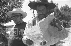 Sergio Leone & Eli Wallach. Sergio Leone. Il buono, il brutto, il cattivo. 1966
