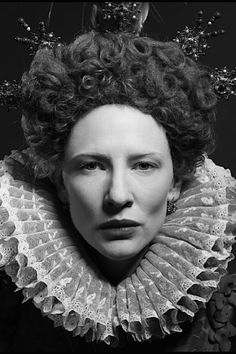 The divine Cate Blanchett as Elizabeth, 1998.  A great flick.