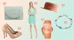 Vestido de Adolfo Dominguez 2014 - http://www.bodas.net/articulos/look-de-invitada-en-peach-and-mint--c2335