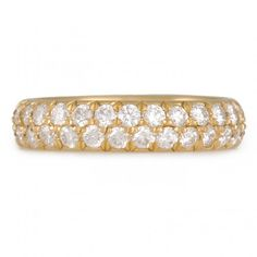 CAROLINE ELLEN- Double Row Eternity Band