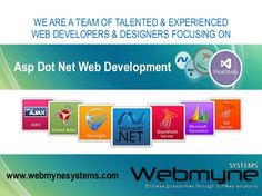 Webmyne Systems offers cost effective Asp Dot Net Web Development Services by our Experienced Dot Net Developers.