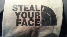Style Your Face Grateful Dead inspired Lot T-shirt North Face Phantasy Phish XL #Stealyourface #ShortSleeve
