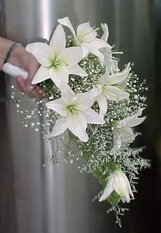 Ramo de novia en lilium