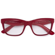 2cb13a17ee757 Dolce   Gabbana floral arm glasses ( 305) ❤ liked on Polyvore featuring  accessories, eyewear, eyeglasses, sunglasses, red, dolce gabbana eyewear,  ...