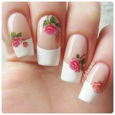 French nails <3  #nail #nails #nailart #naildesign #nailpolish #nailstagram #manicure #mani #neglelakk #manikyr #instanails #nagellack #nailspiration #notd #nailsoftheday #cutenails #cutemani #nails2inspire #nailartaddict #nailsofinstagram