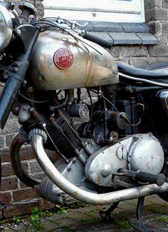 Panther engine left side.