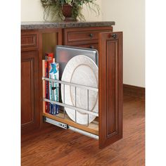 Rev-A-Shelf's baking storage has never been more versatile than with the 447 Pullout Organizer.