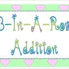 """This """"3-In-A-Row"""" addition game is great for kindergarten, first, and second grade classrooms.  It really helps students memorize their basic addit..."""