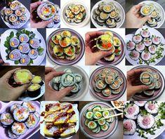 모르면 손해!!예쁘고 이색적인 김밥 12가지 종류 Cooking Tips, Cooking Recipes, Appetisers, Korean Food, Sushi, Food And Drink, Gluten Free, Ethnic Recipes, Glutenfree