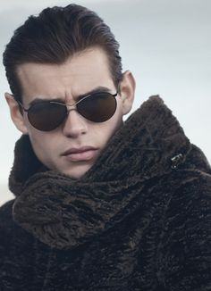 Emporio Armani Fall/Winter 2014 Eyewear Campaign