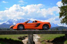 Pure Fun with the McLaren 650S Spider - Tracktest: http://www.neuwagen.de/fahrberichte/3754-mclaren-650s-spider-ueber-den-wolken.html