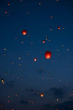 Lotus Lantern Festival in Daegu, Korea