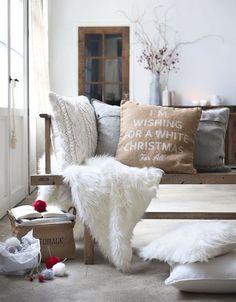 Décoration Noël salon : un air de fête dans mon salon - C