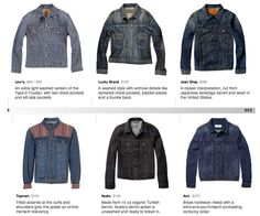 The Denim Jacket Spectrum - get set up for fall by spending a little or a lot.