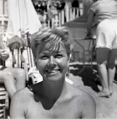 Doris Day in Cannes, 1956.
