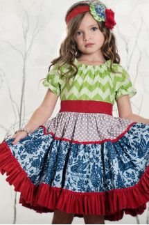 Girls Boutique Dresses - Persnickety Clothing
