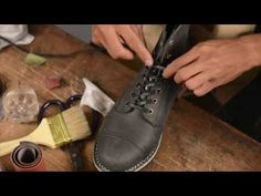 Handmade Shoe Part 1 - YouTube