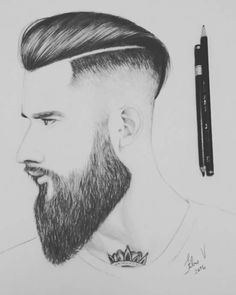 Desenho cortes de cabelo!