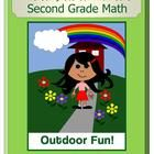 The Complete Common Core Second Grade Math  - A colorful book that includes activities, games and worksheets for ALL of the Common Core standards f...
