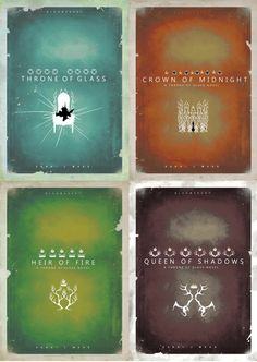 Throne of Glass series // cover redesigns '' To a new world… …To freedom.''