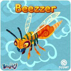 Picomy Games: Heroki Cards - Beezzer & Gnawler